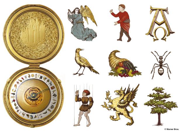 Golden Compass Alethiometer Design + Icons