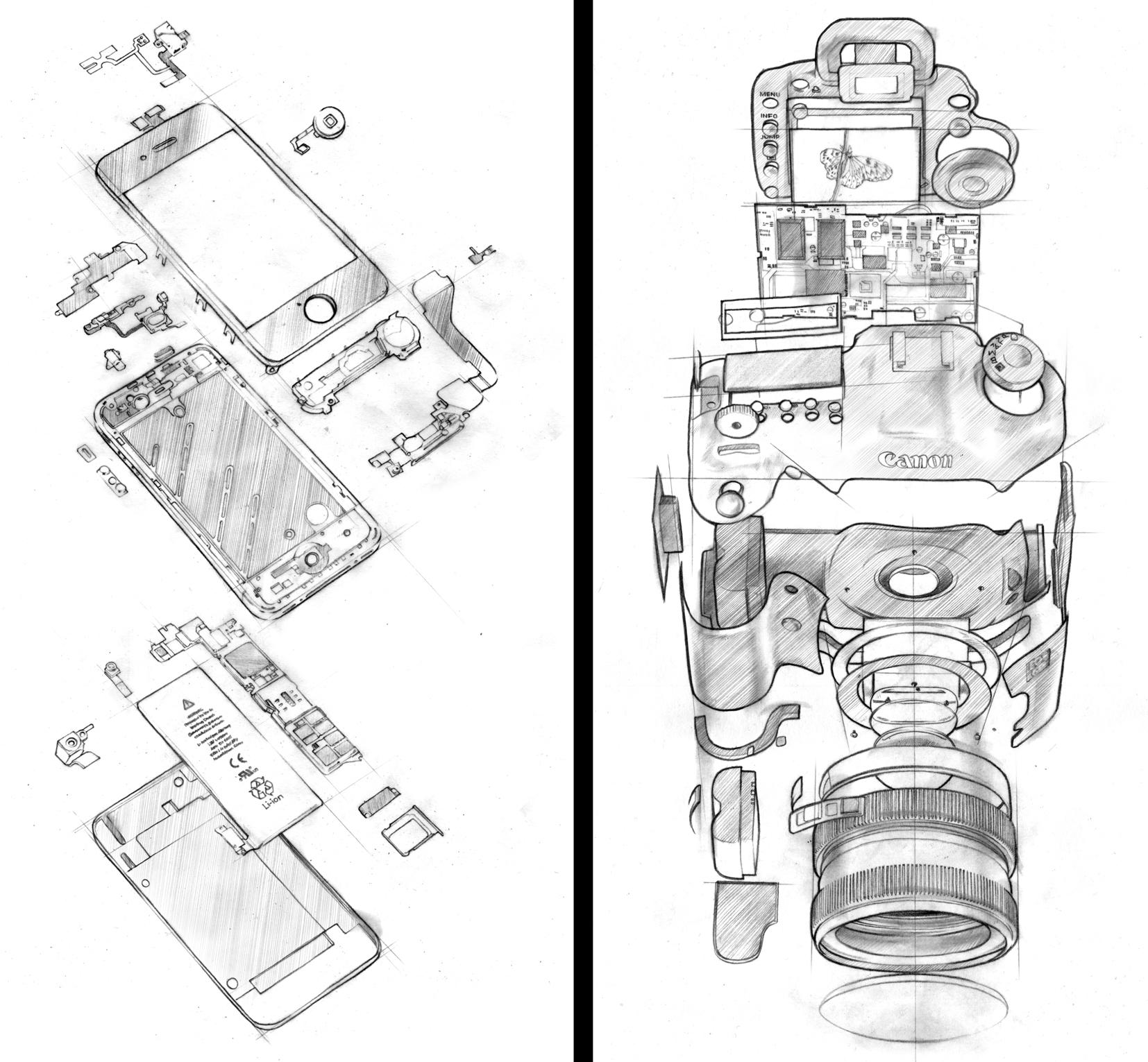 DK iPhone + Canon