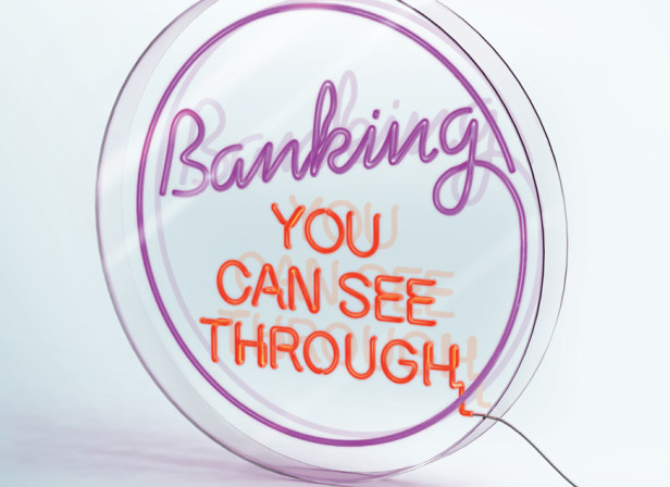 Banking You Can See Through / Virgin Money