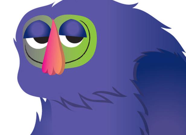 My Fuzzy Buddy Nicorette Aardman Animations