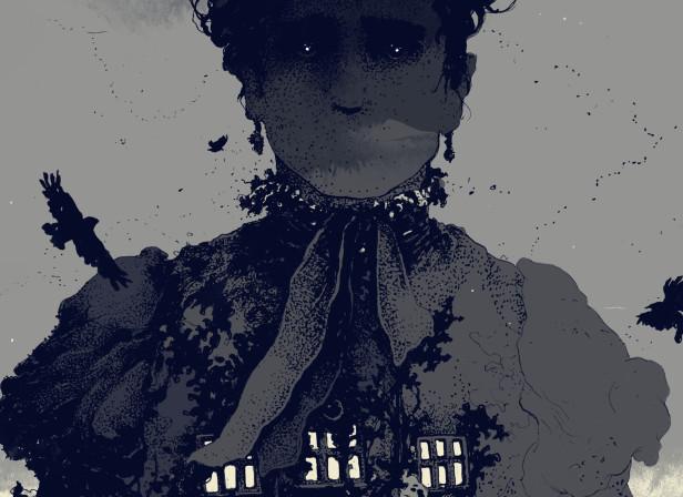Simon Prades Woman in Black Centipede Press.jpg