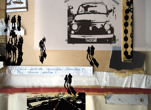 People and Cars Rome