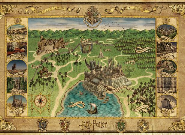 Harry Potter DVD Map Merchandise
