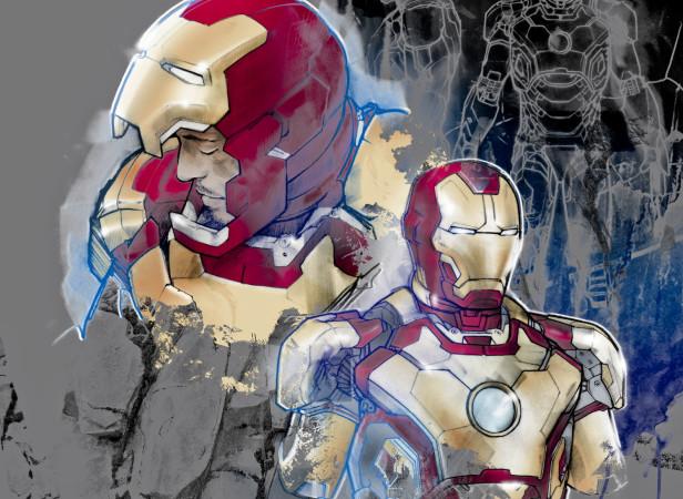 Iron Man Mark 7 Armour