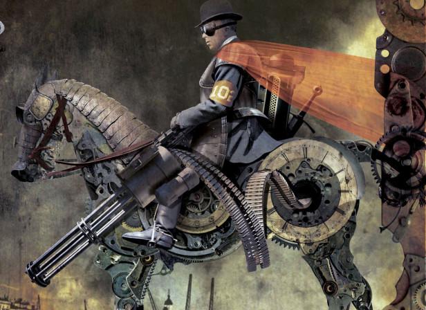 Immortal Engine Steampunk Cover George Mann Tor