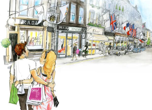 Bond Street Shopping Street High Life Shop! Magazine
