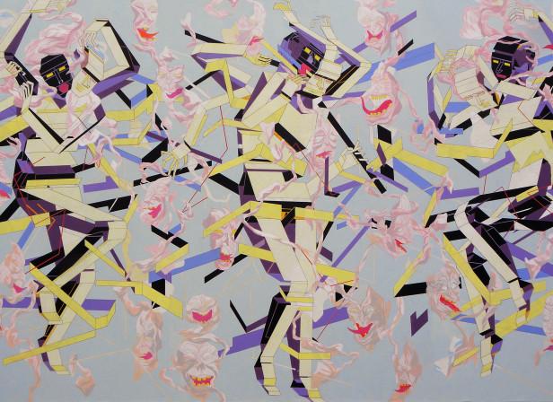 HEAVY WHISPERS - acrylic on canvas - 170 x 110cm.jpg