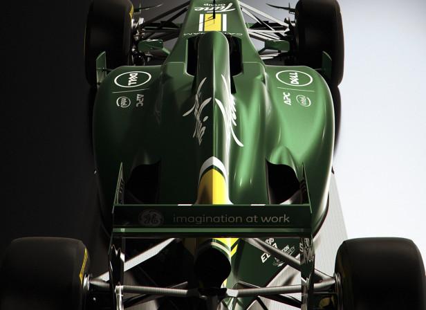 Caterham CT01 F1 Magazine