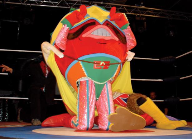 Doritos El Zesto Wrestler