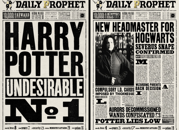 Harry Potter The Daily Prophet Covers 2