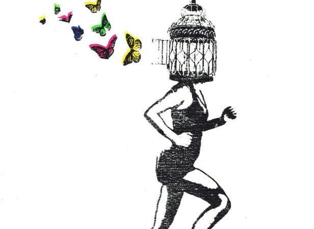 freedom_birdcage_butterflies_running_mentalhealth_screenprint_katie_edwards_illustration_art.jpg