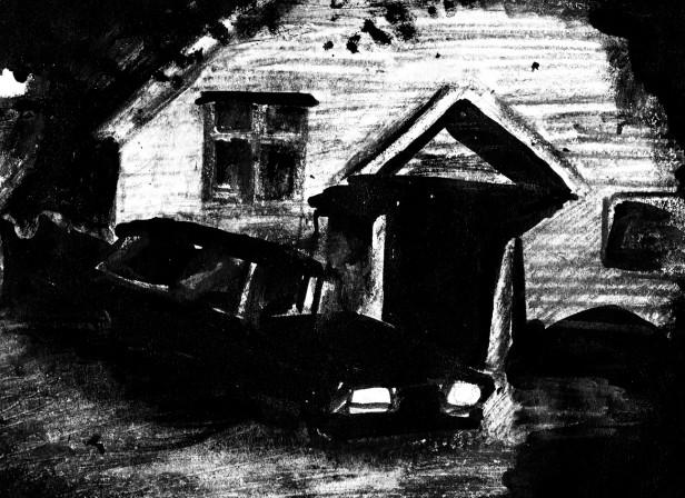 Horror Hotel Noir Car Moody