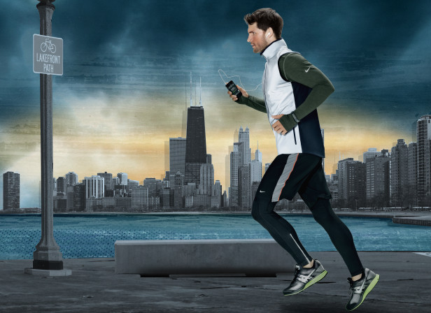 Defy the elements Run Chicago Sears Tower Nike