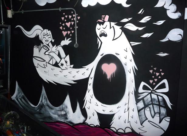 Queen Of Hoxton Pub Mural