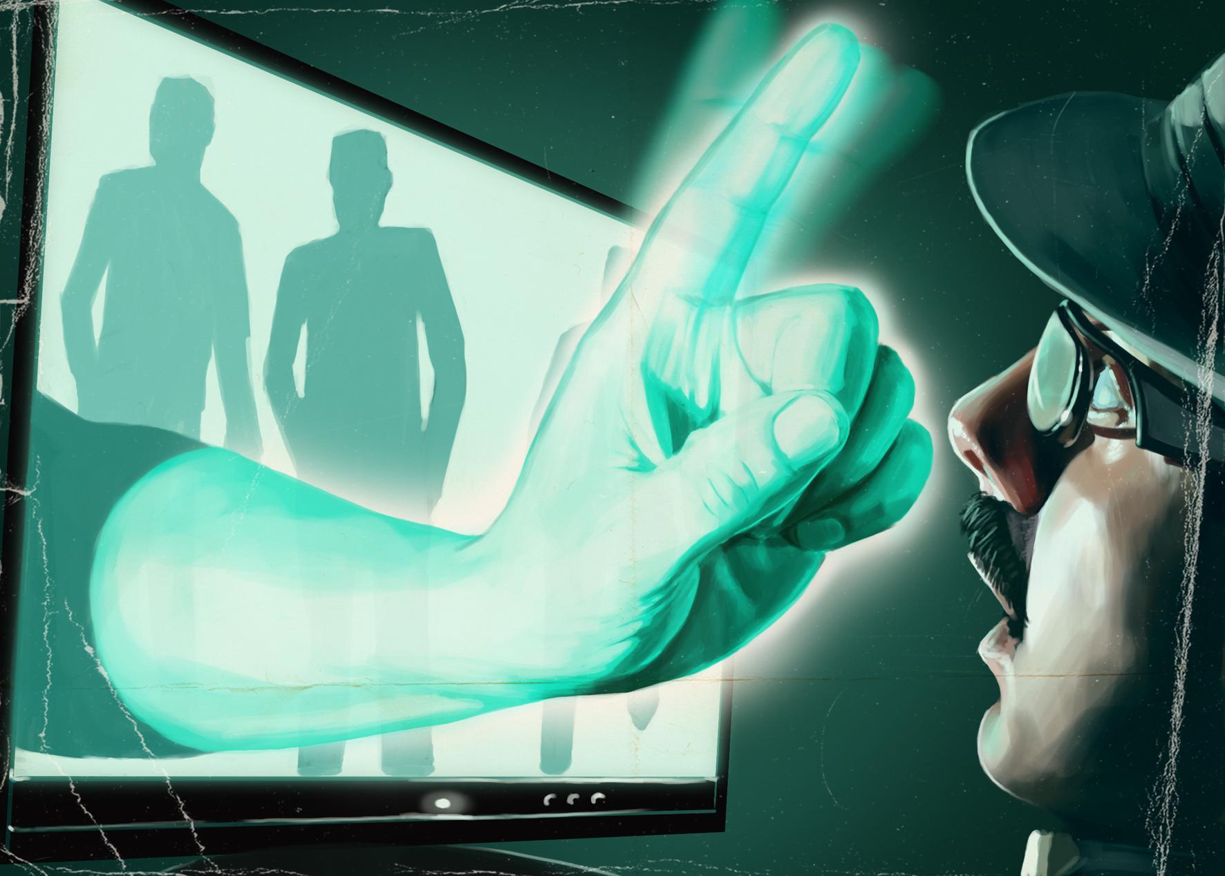 3D Finger Geek