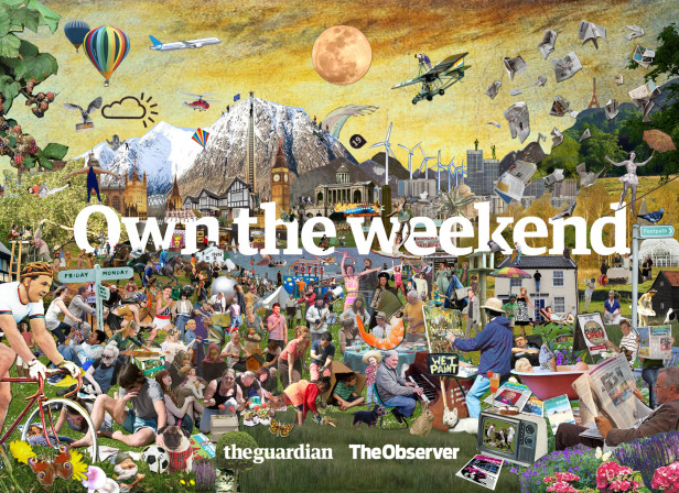 Own The Weekend Wrap / The Guardian