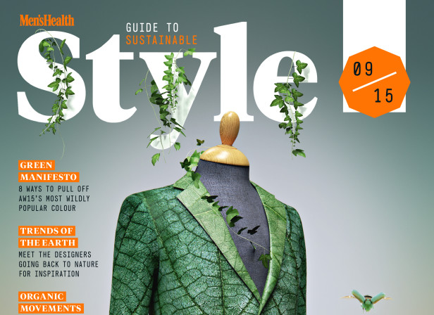 Turn Over A New Leaf Jacket Cover ECO Men's Health Magazine