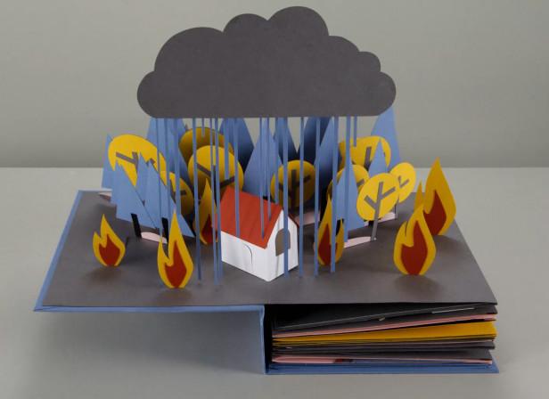 Revolution Still House Fire Rain
