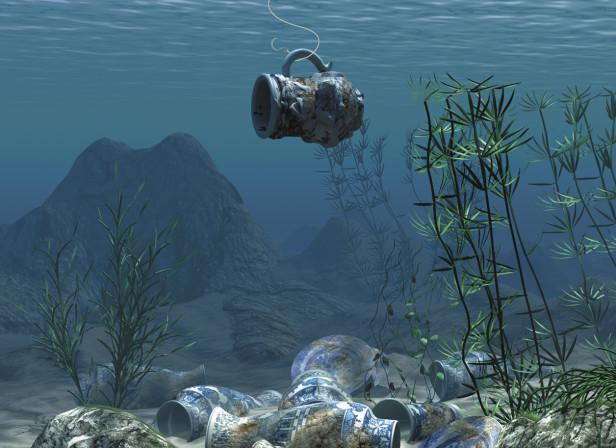Underwater Treasure Kingfisher
