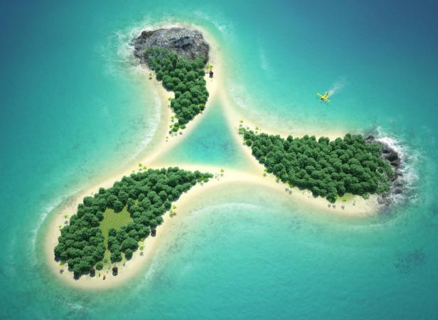 Cream Island