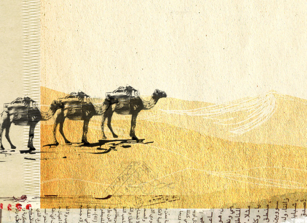 Camels of the Arabian Dessert