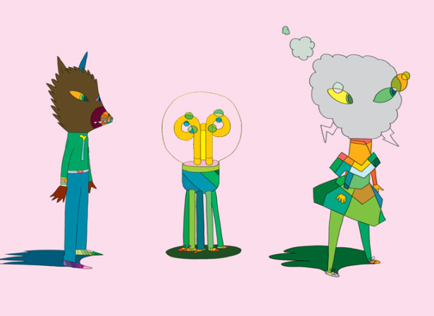 Coloured Characters