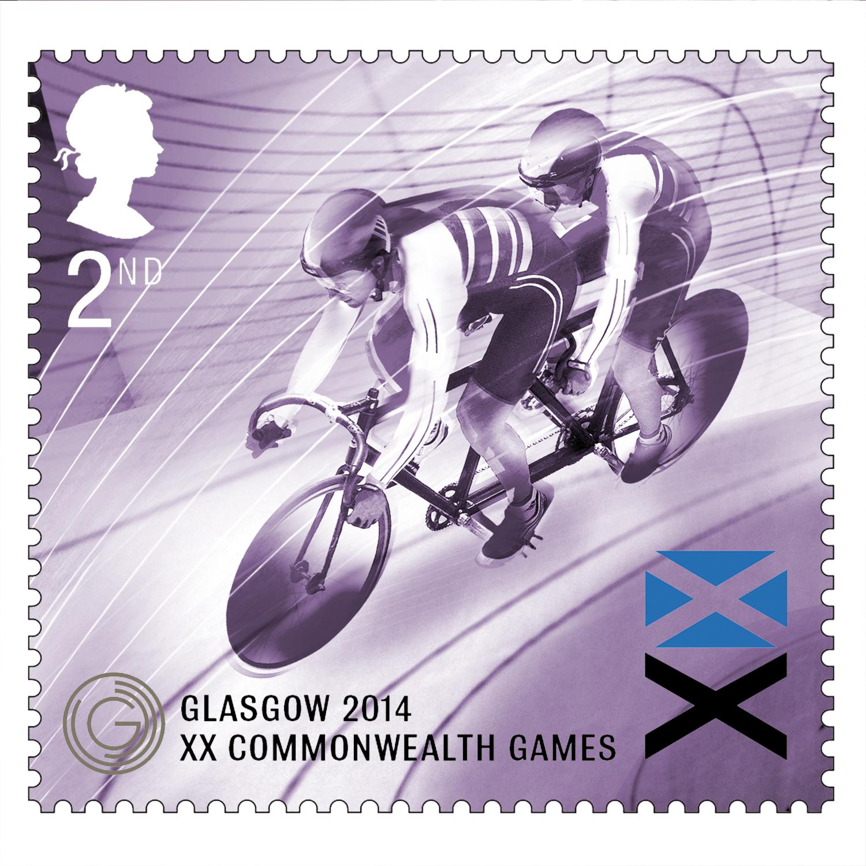 Para Cycle Royal Mail Stamps