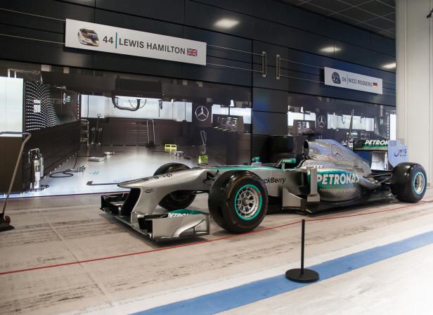 Mercedes F1 Full Length In Situ