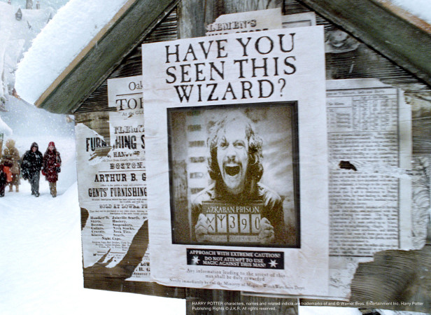 Harry Potter Props Wanted Poster