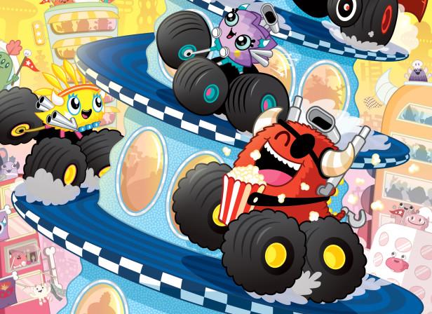 Scholastic Monster Trucks Mega City Cup 1