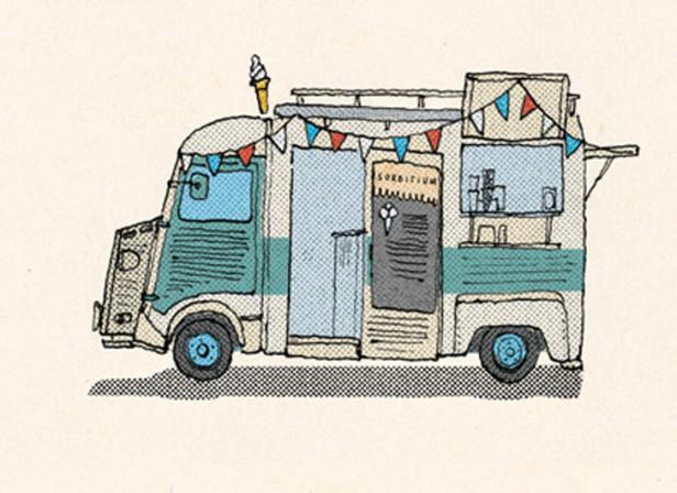 Food Trucks / The London Magazine
