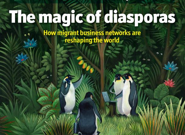 Penguins Magic of Diasporas / The Economist
