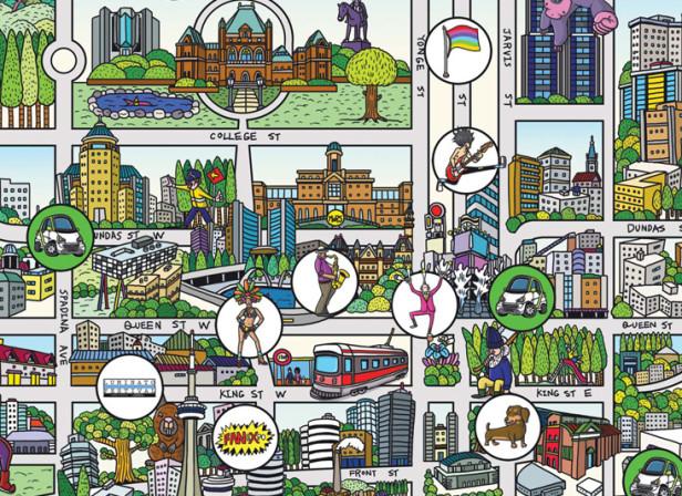 Toronto Map / Smart Car