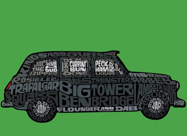 Visit London Official Merchandise Black Cab