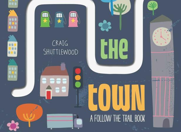 Follow the Trail Through the Town Cover