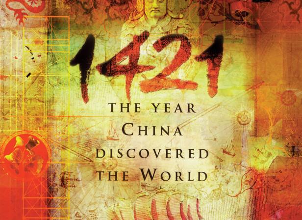 1421 Book Cover / Transworld