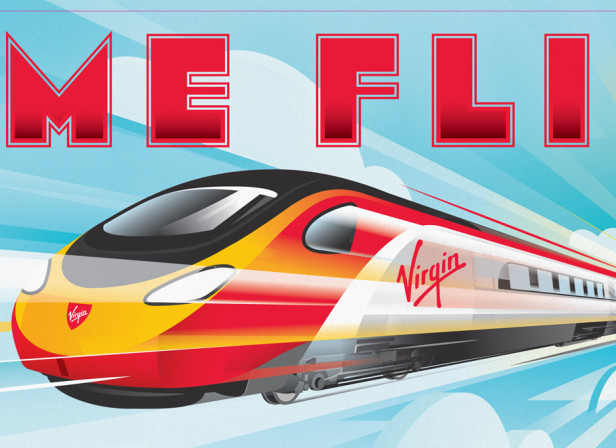 Virgin Trains Time Flies