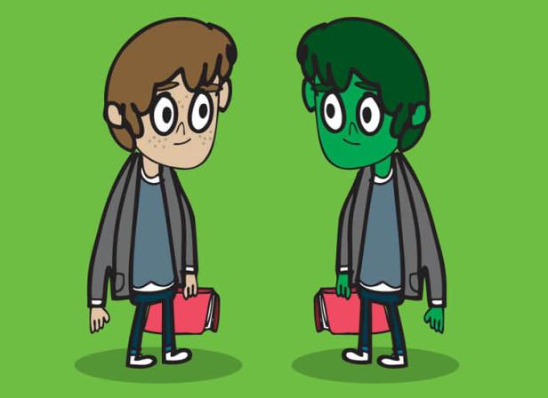 Brocoli Boy Characters