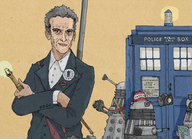 Dr Who / The Telegraph