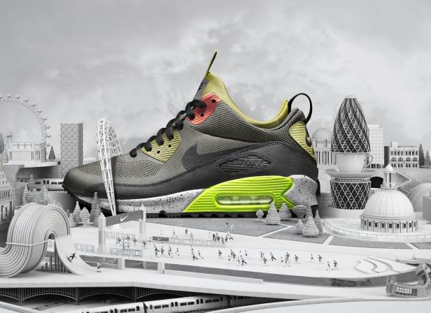 London SneakerBoots / Nike