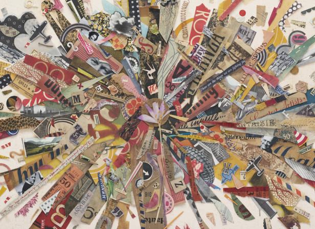 Kurt Schwitters MERZBARN Report -  Fine Art Collage Poster - Arts Council UK.jpg