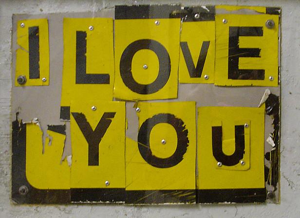 Love Lettering 3D Type