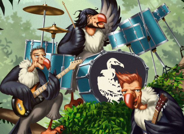 Mojo Mag/Them Crooked Vultures