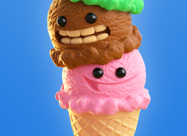 Ice Cream Characters