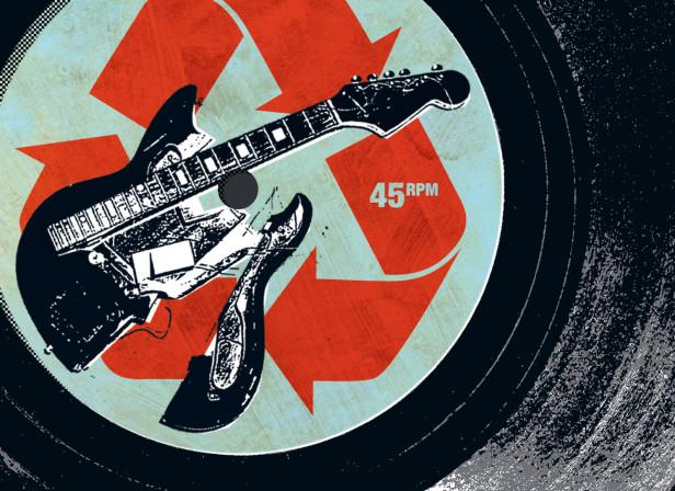 GQ Magazine / Recycled Rock
