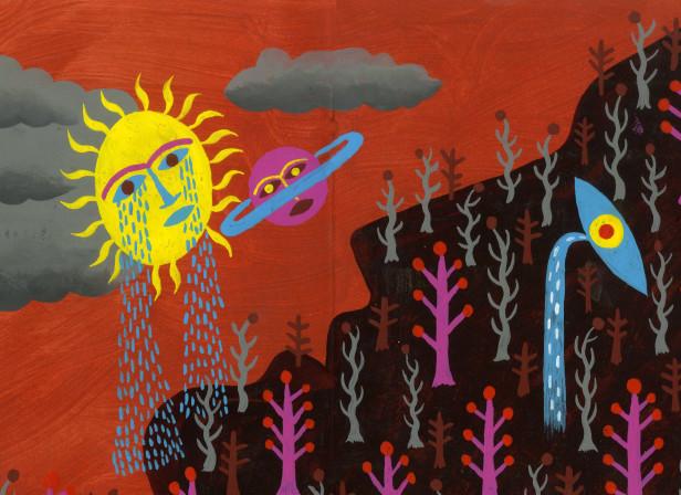 Sun Crying on Hill.JPG