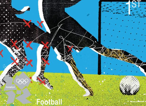 Royal Mail Womens Football / London 2012