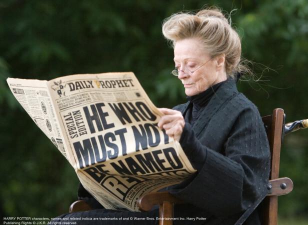 Harry Potter Props Daily Prophet
