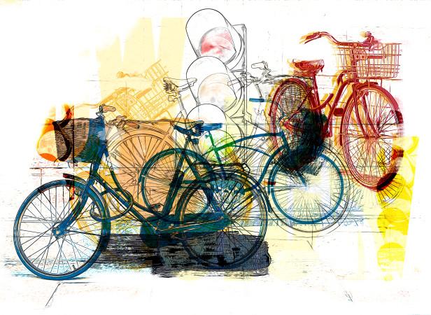 Europe and bikes editorial illustration .jpg