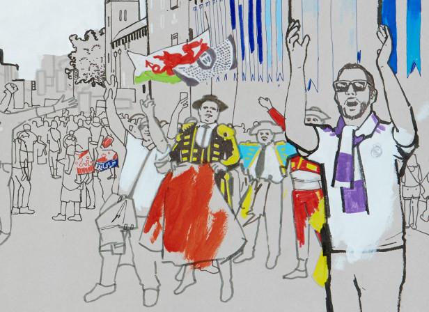 FA Wales Mag-Castle Street fans.jpg